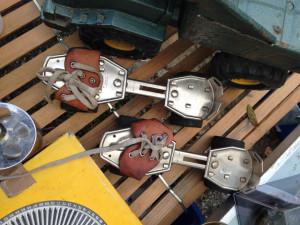 Old rollerskates